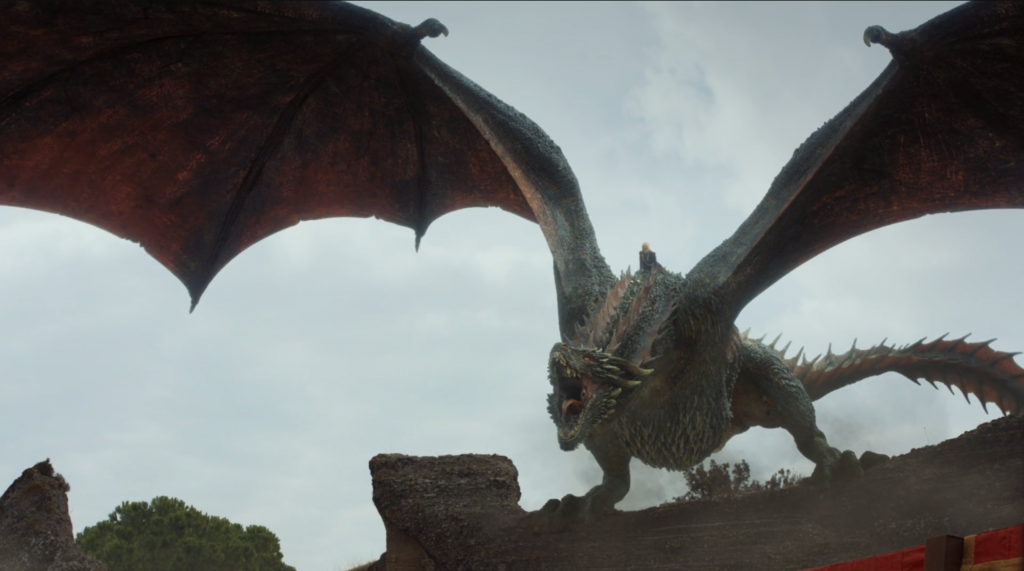game of thrones the dragon and the wolf