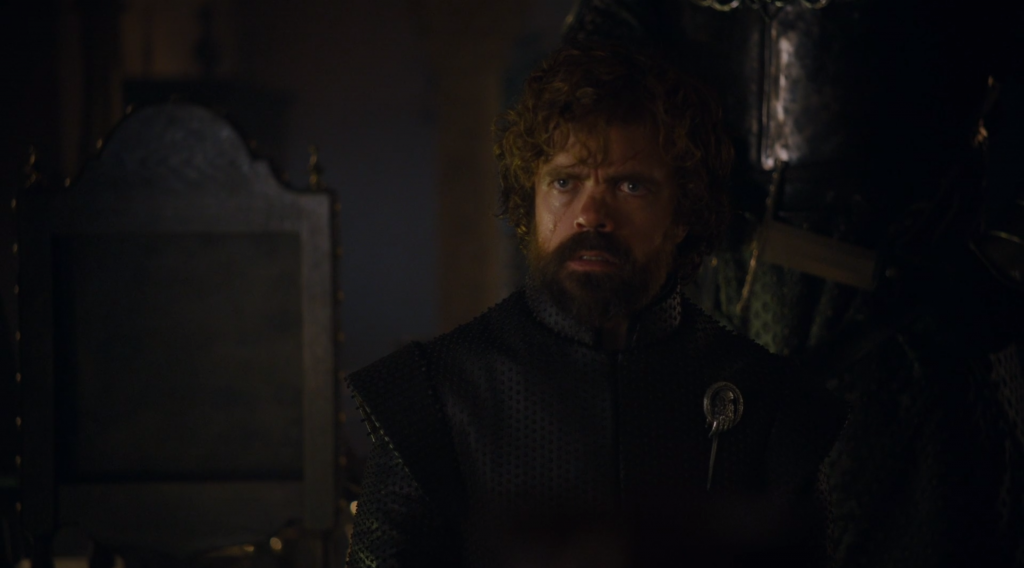 tyrion game of thrones the dragon and the wolf