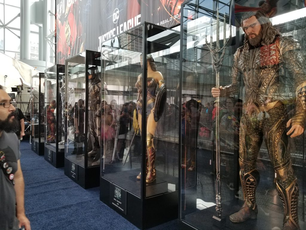 justice league new york comic con costumes