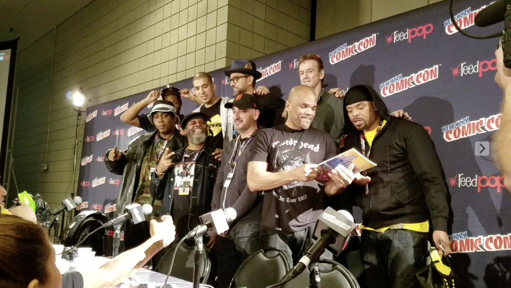 New York Comic Con Hip hop panel
