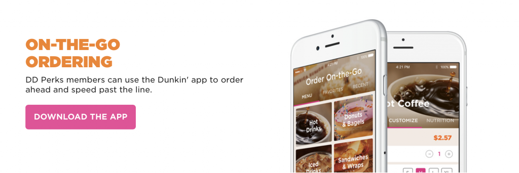 consumer behavior for dunkin donuts New york: dunkin' donuts, the quick-service chain, is already  us to know that  customer, to understand her behavior, and actually start to.