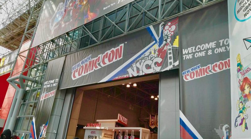 new york comic con banner