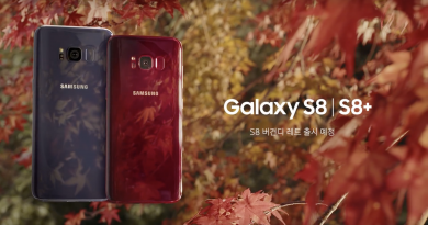Burgundy Red Galaxy S8