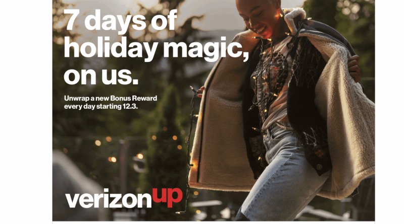 Verizon Up Holiday Gifts